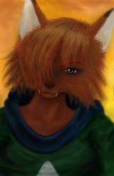 alef portrait by blade8531