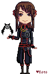Ylia Pixel by DianthaWisteria