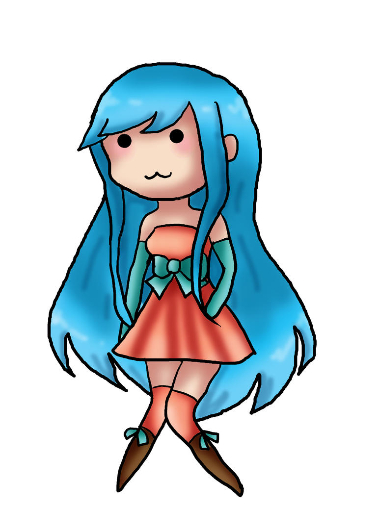 Random kawaii anime girl by negisasakura
