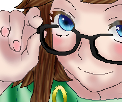Anime Glasses of Meh by negisasakura