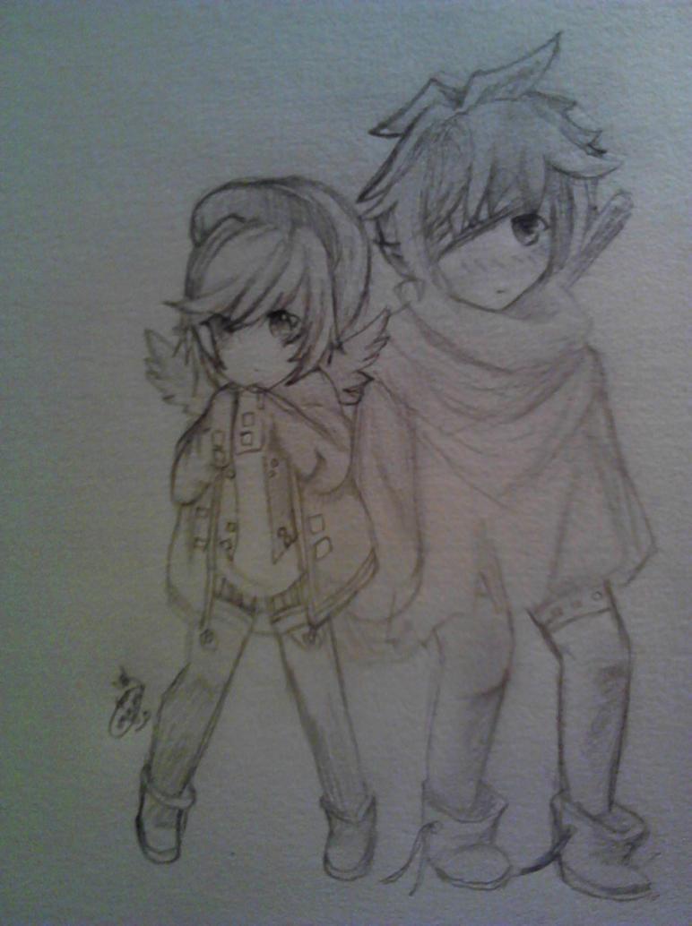 Gaia couple by negisasakura