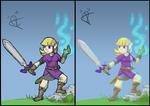 Zelda The Brave