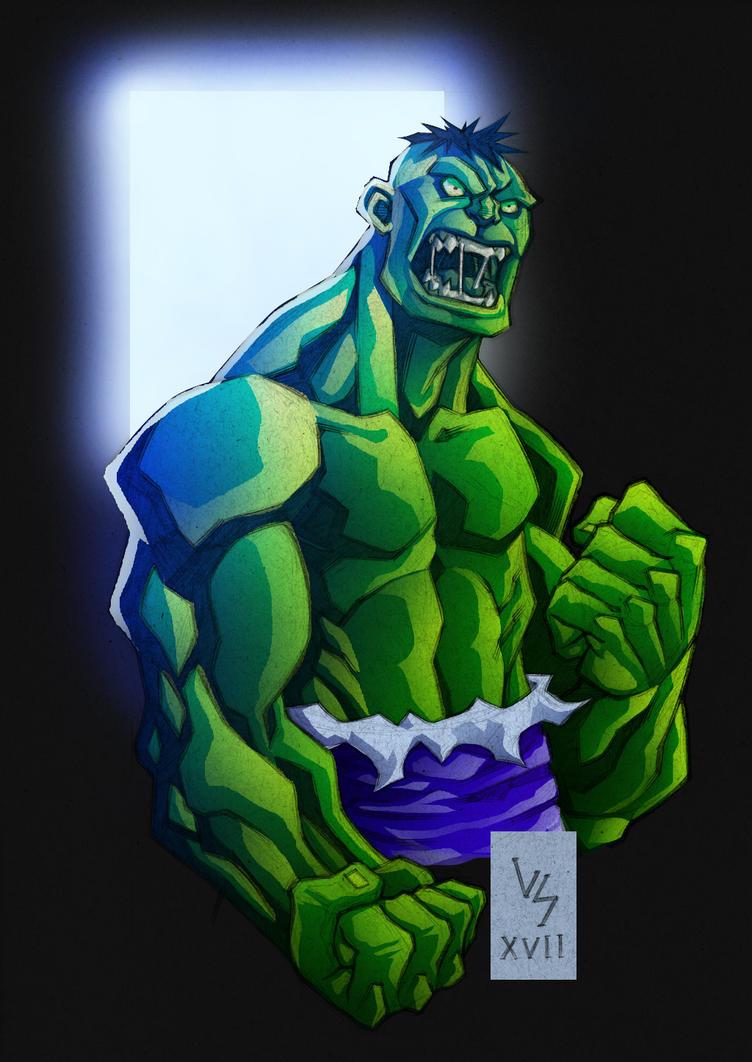 Hulk colors... by Bruno-Varanda