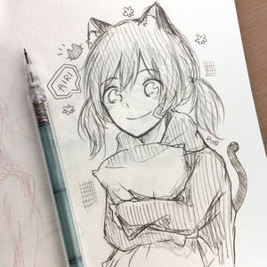 Airi the kitten