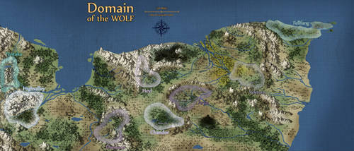 Domain of the Wolf Map by Halkuonn