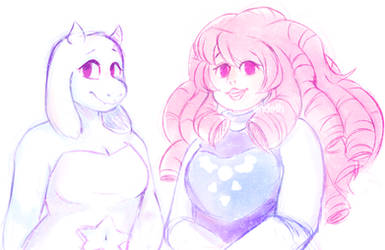 {Undertale x Steven Universe} The Best Moms