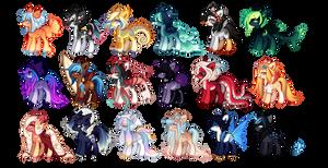 [Open] Sea Ponies - Set Price Adopts