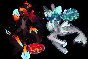 [Open] Lava + Arctic Mermaid Astralunes