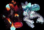 [Closed] Lava + Arctic Mermaid Astralunes