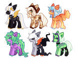 [2/6 Open] even more ponies (wow)