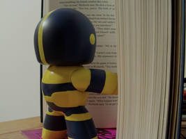 Thanos is Reading