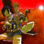 Tales of Destiny ll The evening before the fight