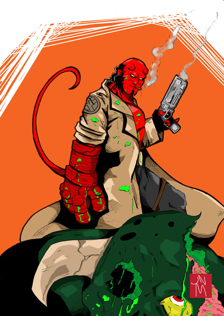Hellboy by jnmayers