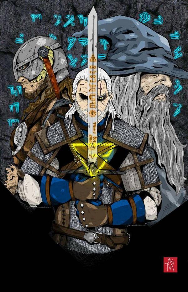 Fantasy trinity  by jnmayers