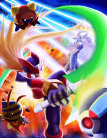 Megaman Zero by undertheheaven