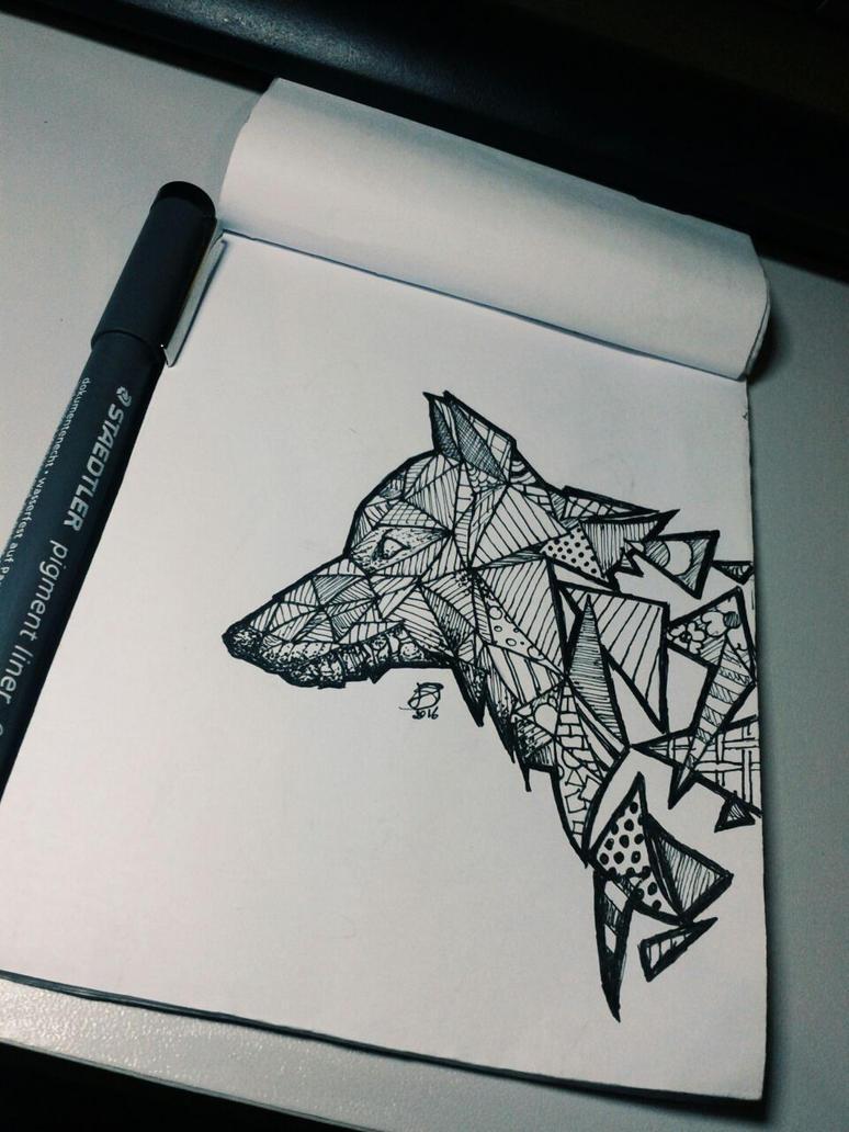 how to draw geometric art