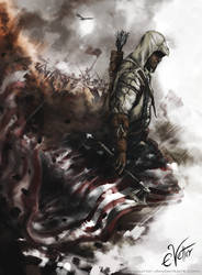 Assassin's Creed III - Connor Kenway by Psycuror