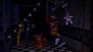 [SFM] Why Foxy jumps at you in FNaF 2 by DaClassicDude