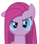 Serious Pinkie Pie
