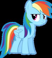 MLP - FiM: Rainbow Dash No.1 by chir-miru