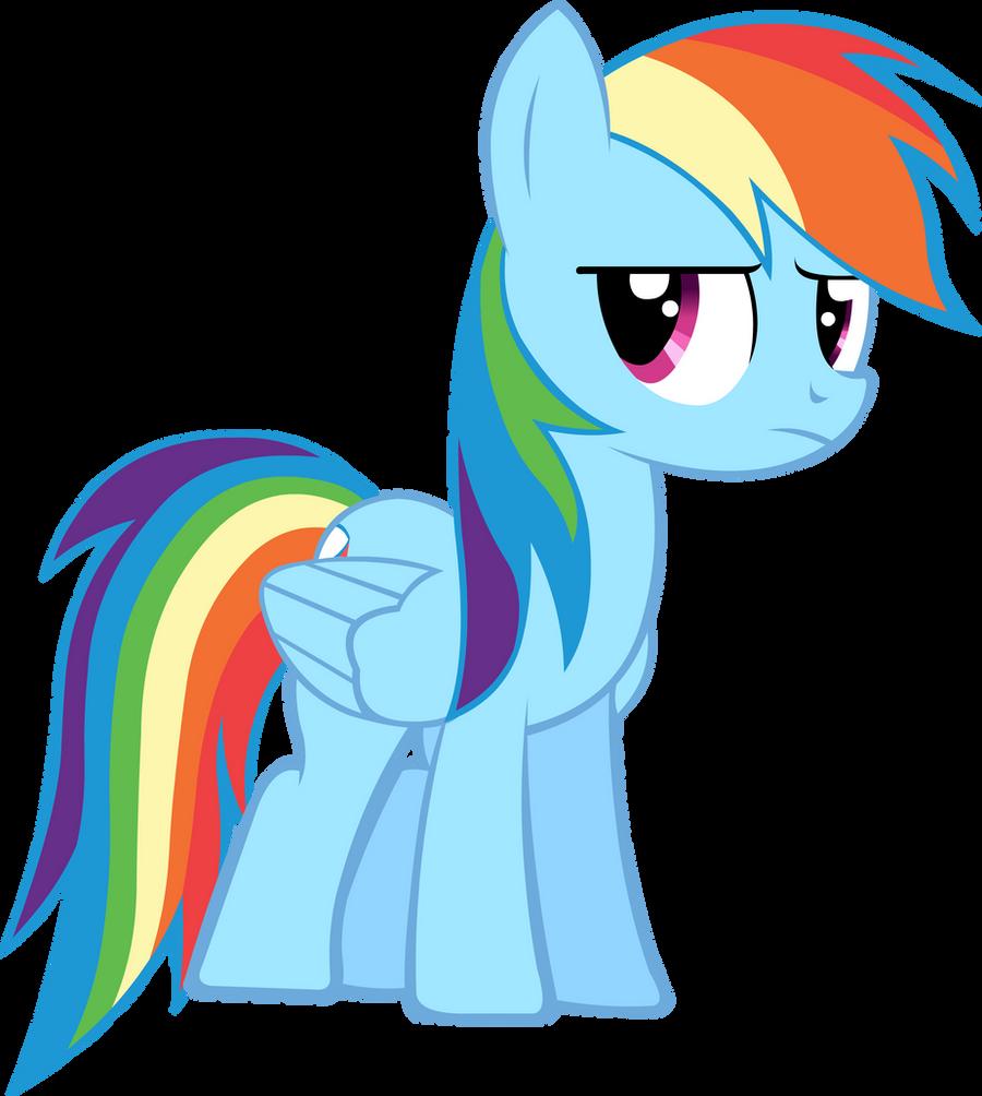 MLP - FiM Rainbow Dash Rainbow Dash Mlp Vector