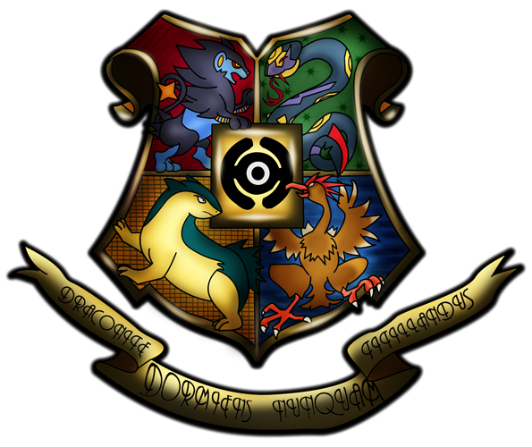 Hogwarts Shield Crest by GB-of-BS on DeviantArt