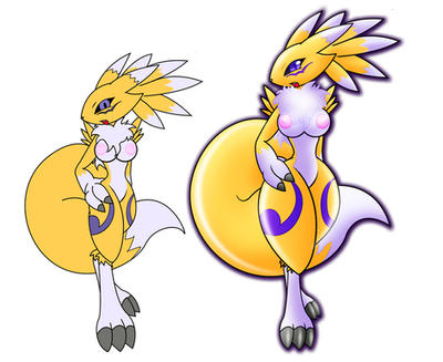 Digimon Queen Nipples by GB-of-BS