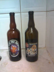 Two fave beers by PKersey
