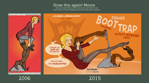 Draw This Again - The Boot Trap!