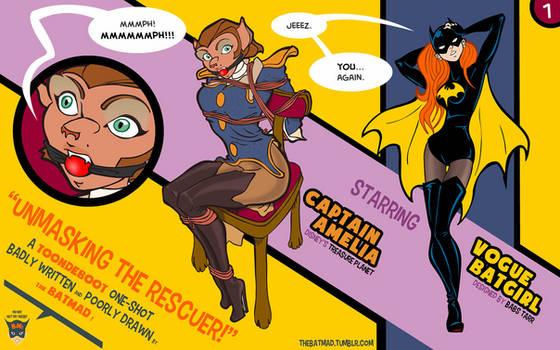 Captain Amelia and Vogue Batgirl - 01