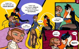 Captain Amelia and Vogue Batgirl - 02 by BatMad