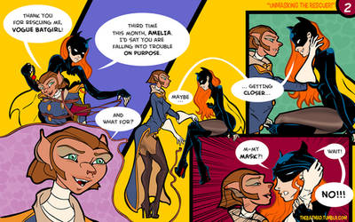 Captain Amelia and Vogue Batgirl - 02