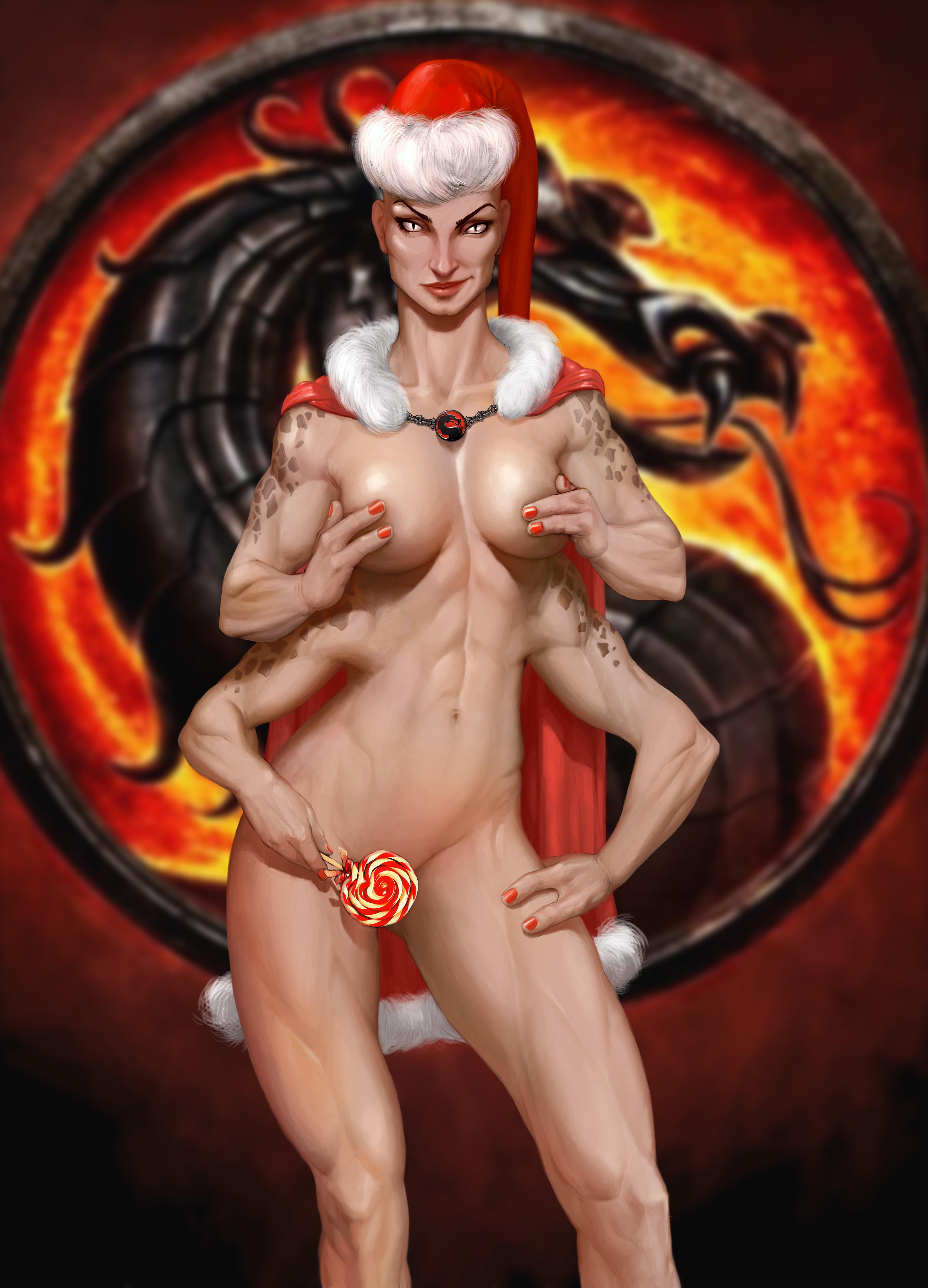 Sexy mortal kombat girls fan art nude pic