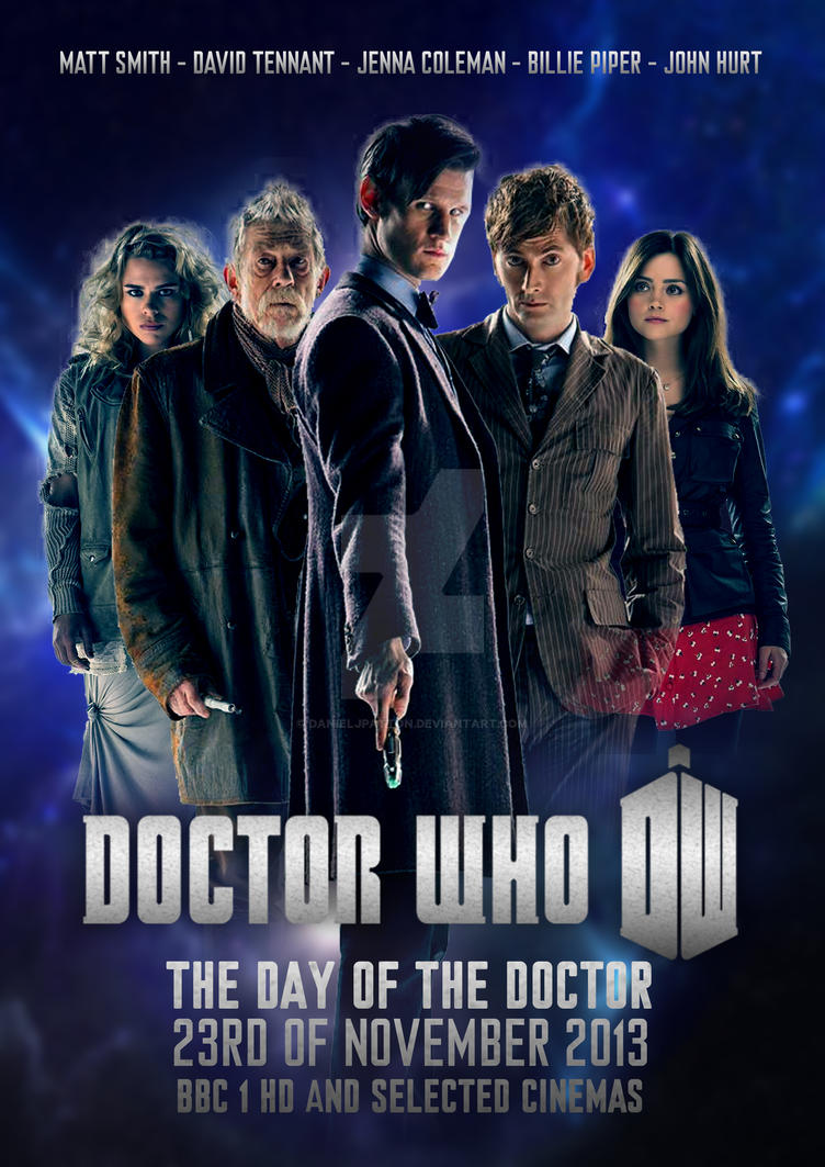 doctor who the day of the doctor poster 2 by