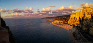Panorama Partially on Tropea