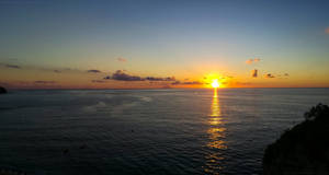 Sunset from Tropea