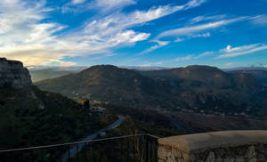 Panorama Partially over Gerace