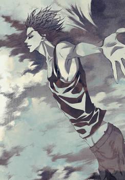 HP doujinshi - Blaise flying