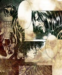 HP doujinshi - Professor Snape by asahikawa-arashi