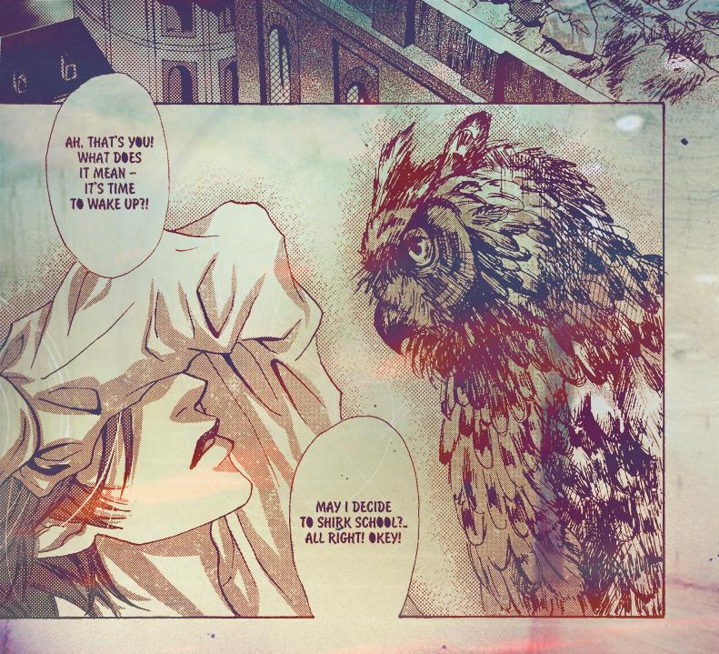HP doujinshi - Blaise and owl by asahikawa-arashi