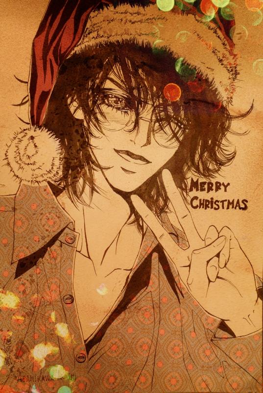 Harry Potter - Merry Christmas by asahikawa-arashi