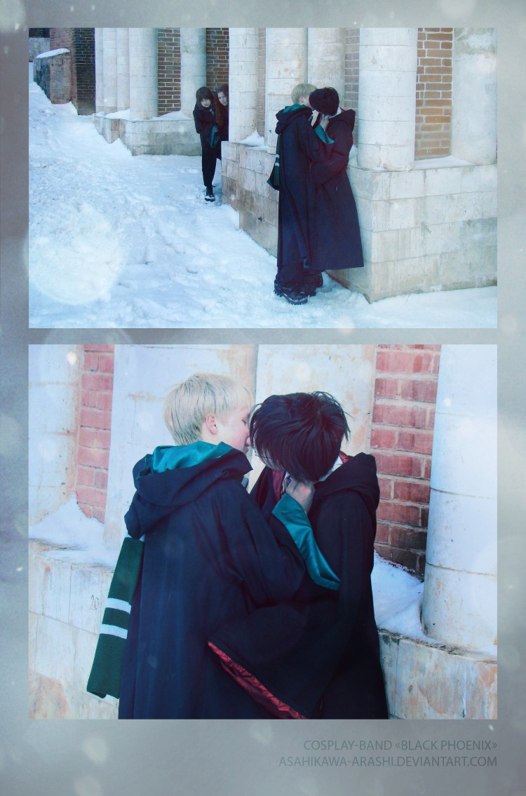 Harry Potter Draco Malfoy yaoi by asahikawa-arashi