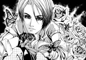 Manga style portrait