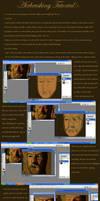 Airbrushing tutorial Corel+PS