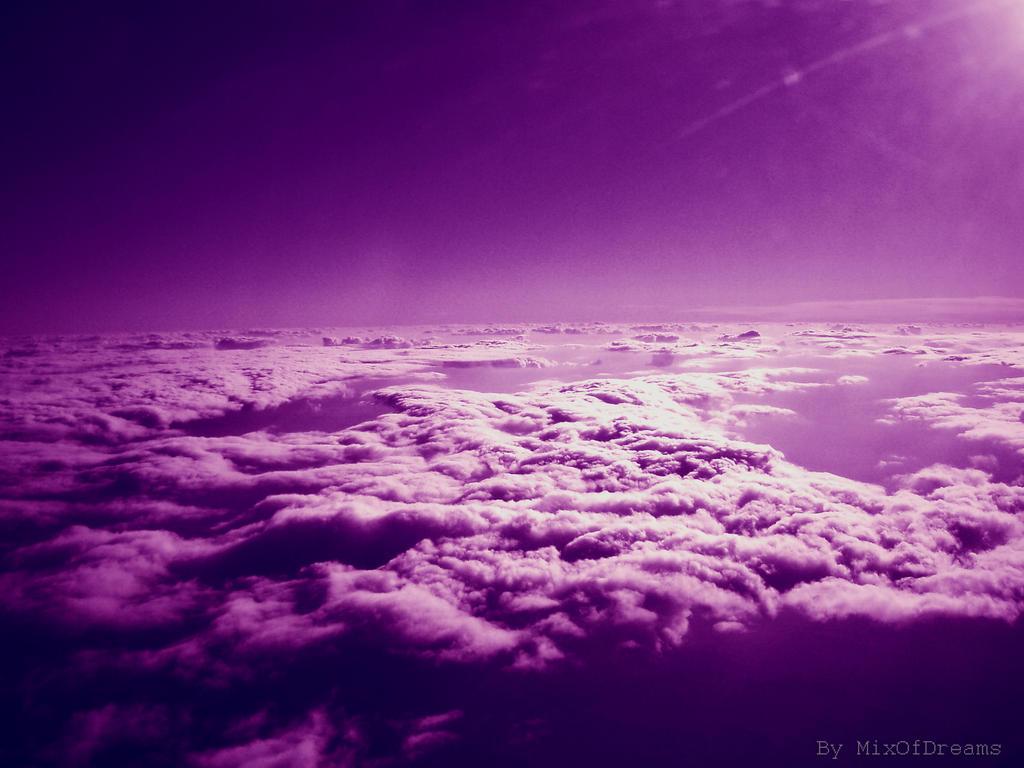 Purple Clouds by MixOfDreams on DeviantArt