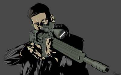 The Punisher by BennyCANEATYOU