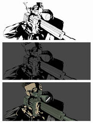 PROCESS (THE PUNISHER) by BennyCANEATYOU