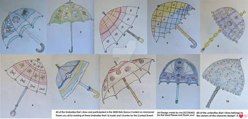 Rain Dance Umbrella Overalls