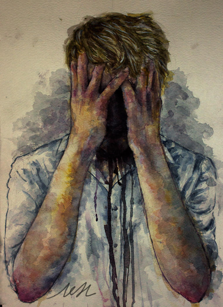 depression by ChaosCake on DeviantArt