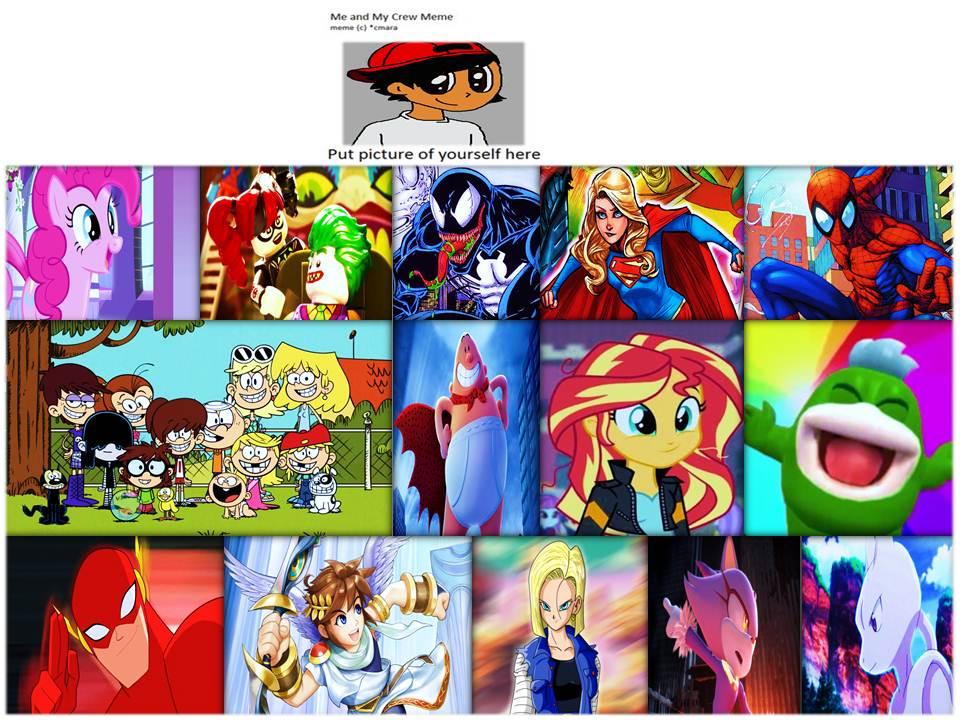 my crossover crew meme by loonyartist96 on deviantart